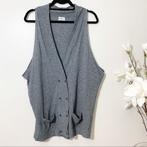Wallace X Madewell Cardigan Vest